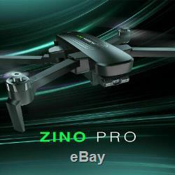 Hubsan Zino Pro Fpv Drone 5g 4k Gps Quadcopter Brushless 3 Gimbal + Batterie Bnf