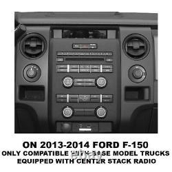 Interface Radio Après-vente Pour Sélectionner Ford Avec Le Contrôle/ampli Du Volant/sync