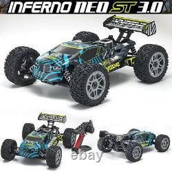 Kyosho 33016 1/8 Inferno Neo St Gp 3.0 4wd Off-road Stadium Truck Avec Radio