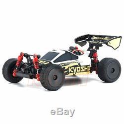 Kyosho Mini-z Buggy Inferno Mp9 Blanc Noir Readyset Rtr Rc Cars Kit # 32091wbk