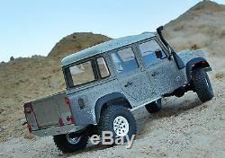 Land Rover Defender D110 Hardbody Pour Axial Scx10 Rc4wd Gelande Mex