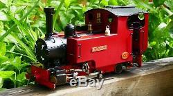 Locomotive À Vapeur En Direct 0-4-2 Pour 16 MM G Échelle Sm32 Comme Roundhouse Accucraft