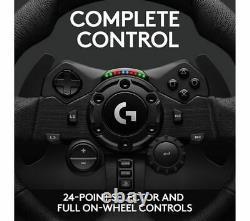 Logitech G923 Volant & Pédales Ps4 & Pc Game Black Currys