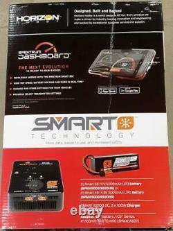 Losi Lasernut U4 1/10 4wd Brushless Rtr Rock Racer Black Avec Radio & Smart Esc