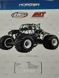 Losi Lmt 4wd Monster Axle Truck Roller Los04022 Neuf