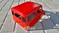 Mercedes Unimog 416 Doka Hardbody Traxxas Trx-4 Mst CMX Rc Axiale Scx10 Rc4wd