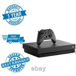 Microsoft Xbox One X 1 To Console Noire, Avec Contrôleur 1 Yr Warranty