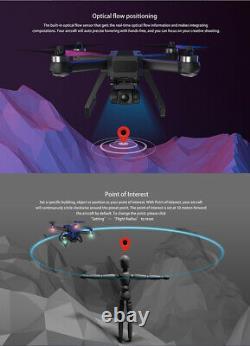 Mjx B20 Bugs Eis Gps Drone 5g Wifi 4k Hd Camera Fpv Rc Foldable Quadcopter Royaume-uni