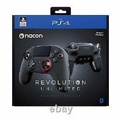 Nacon Contrôleur Esports Revolution Unlimited Pro V3 Playstation 4 Sans Fil