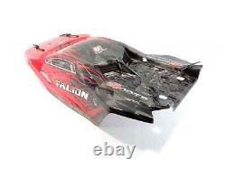 New Arrma Talion 6s Blx Red & Black Painted Corde Shell Avec Pins De Clips De Corps