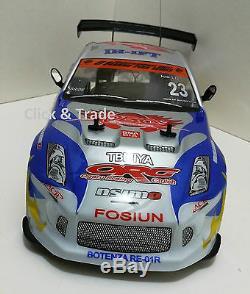Nissan Style 4wd Drift Radio Télécommande De Voiture Rc Drift Car 110 Échelle