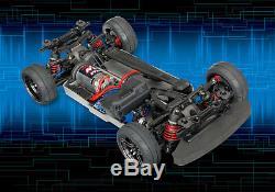 Noir Mat 69 Chevy Camaro Z28 Personnalisée Traxxas 4-tec 2.0 1/10 4wd Rc Touring Car