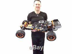 Nouveau 2020 15 Rtr Roi Moteur Ksrc-002 Gas Rtr Buggy Hpi Baja 5b Rovan Compatible