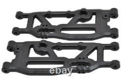 Nouveau Arrma Outcast Kraton Talion RPM Suspension Arms A-arms Set Front Rear Black