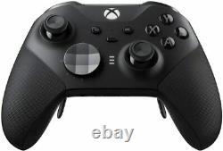 Nouveau Contrôleur Sans Fil Officiel Microsoft Xbox One Elite Série 2 Noir