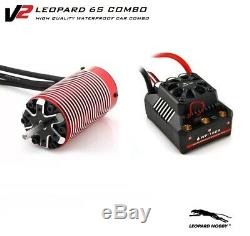 Nouveau Moteur 4275 2000kv 6s Leopard Brushless + Esc Bl6 Wp 160a 6s Par Express