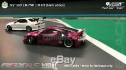 Nouveau Mst 532163 Rrx 2.0 S Noir 110 Rc Rwd Haute Performance Drift Car Kit