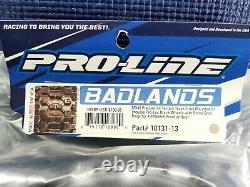Nouveau Pro-line Badlands Pro-loc Qté 4 Pneus / Roues Traxxas X-maxx Xmaxx 10131-13