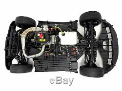 Nouveau Rovan 1/5 Échelle F5 360 36cc Gaz Rtr 4 Roues Motrices Voiture Sur La Route Rtr Noir Compatible CD Maxi
