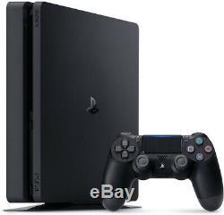 Nouveau Sony Playstation 4 Ps4 Slim + 1 To + Casque Sans Fil Dualshock 4 Controller