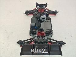 Nouveau Traxxas 1/16 E-revo VXL Mini Monster Truck Roller Slider Chassis Build Kit