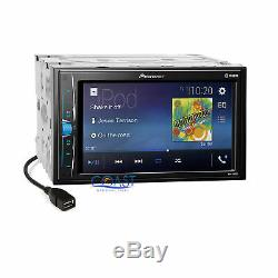 Pioneer 2018 Stereo Noir Dash Multimedia Kit Harnais Pour 2003-04 Infiniti G35
