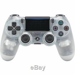 Playstation 4 Pro 1tb Noir Console + 4 Dualshock Sans Fil Contrôleur Cristal