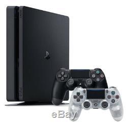 Playstation 4 Slim + 1 To Console Supplémentaire Dualshock 4 Télécommande Sans Fil Cristal