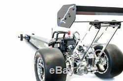 Primal Rc 1/5 Échelle Prêt À Fonctionner Dragster Zenoah Gas Engine Drag Radio À Distance