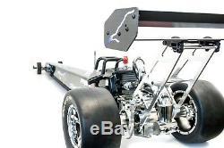 Primal Rc 1/5 Échelle Prêt À L'emploi Dragster Rail Car Zenoah 29cc Gas Engine Drag