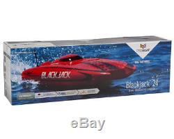 Pro Blackjack Bateau 24 Rtr Prêt À Fonctionner 24 Pouces 24 Catamaran Rc Bateau Prb08007