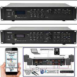 Puissant Mixer Bluetooth Amplifier200w Par Channelwireless Multi Zone Hifi Amp