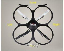 Quadcopter U818a Drone Caméra Rc Heli Helicoptere Dadget Cadeaux Spy Gadget