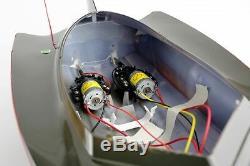 Rc Vente Furtif Remote Radio Noir Control Ep Racing Speed boat Modèle 7000 Toy