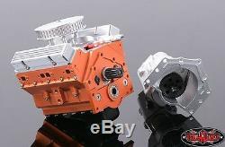 Rc4wd 1/10 V8 Échelle Moteur Pour Trail Finder 2 540 Tf2 Convient Moteur Z-s1043 10