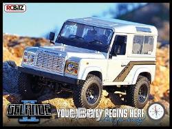 Rc4wd Gelande 2 II Camion Châssis Kit Hard Body D90 Amazing Détails G2 Z-k0001 Rc