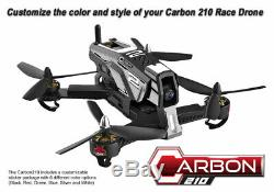 Redcat Racing Carbon 210 Race Brushless Rtf Rc Racing Drone Avec Black Caméra Hd