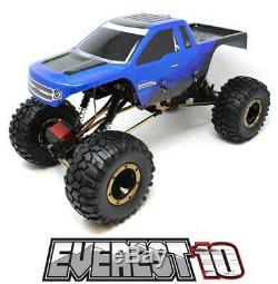 Redcat Racing Everest-10 Échelle 1/10 Électrique Brossé 2.4ghz Rc Crawler Bleu / Blk