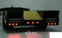 Remorque D'équipement Lourd À Double Essieu Bigdog 1/14 Z-h0015 Rc4wd 900x193mm