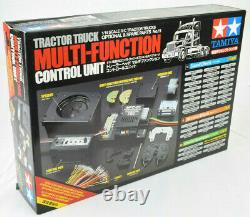 Remorque De Tracteur Tamiya Unité De Contrôle Multifonction 56511