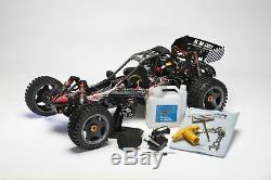 Roi Moteur Ksrc001 1 / 5ème Échelle Baja Buggy 2wd Essence Rc Car Radio 2.4ghz Rtr