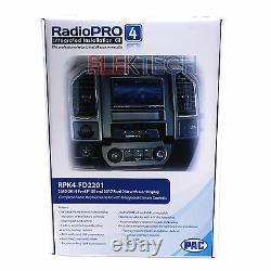 Rpk4-fd2201 Kit De Remplacement Radio Avec Contrôle Climatique Intégré Pour 2015-19 Ford