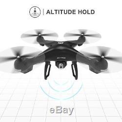 Saint Pierre Hs100 Fpv Drone Rc 3d Vr 1080p Wifi Caméra Gps Quadcopter 2 Batterie