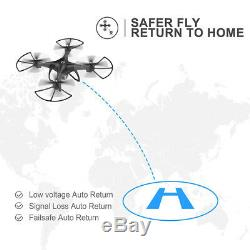 Saint Pierre Hs100 Fpv Selfie Drone Avec Gps Caméra Hd 1080p Rtf Rc Quadcopter Uk