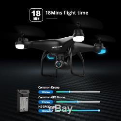 Saint Pierre Hs120d Gps Drone Fpv Caméra Hd Profissional Wifi Rc Drones