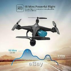 Saint Pierre Hs120d Gps Rc Drone 1080p Caméra Hd Fpv Rth Quadcotper Follow Me
