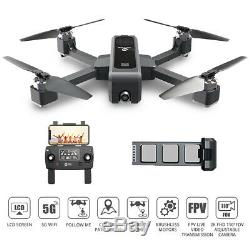 Saint Pierre Hs550 Brushless Gps Rc Drone 2k Caméra Wifi Fpv Pliable Quadcopter