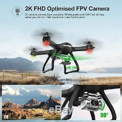 Saint Pierre Hs700d Fpv Drone 2k Fhd Live Camera Rc Quadcopter Gps Retour Accueil