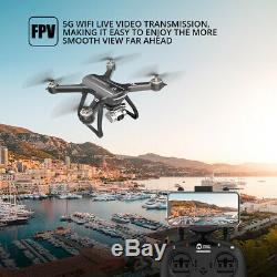 Saint Pierre Hs700d Gps Fpv Drone Avec 2k Hd Caméra 2.4g Rc Selfie Quadcopter