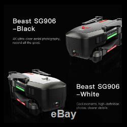 Sg906 Gps Brushless 4k Drone Avec Gesture Sac À Main Caméra 5g Wifi Pliable T4q9